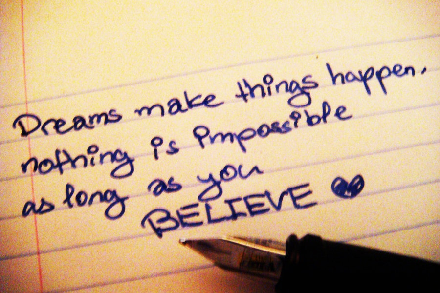 Believe Quote 1 Picture Quote #1