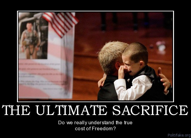 Military Ultimate Sacrifice Quote 1 Picture Quote #1