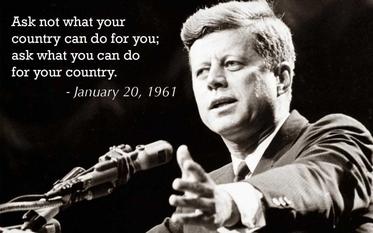 Jfk Quote 1 Picture Quote #1