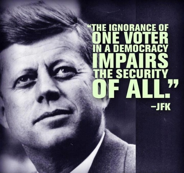 Jfk Quote 4 Picture Quote #1
