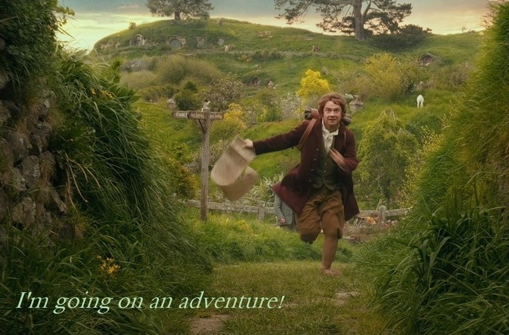 Bilbo Baggins Adventure Quote 1 Picture Quote #1