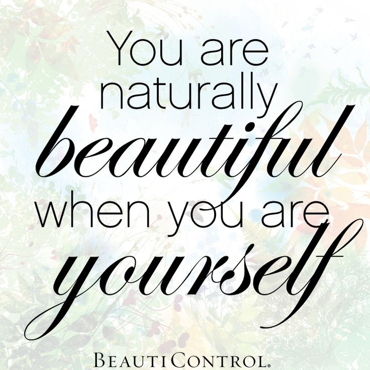Natural Beauty Quote 1 Picture Quote #1