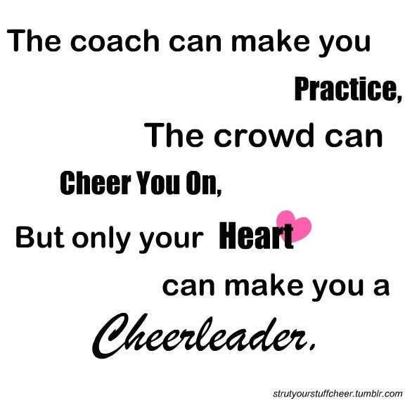 Best Cheer Quote 1 Picture Quote #1
