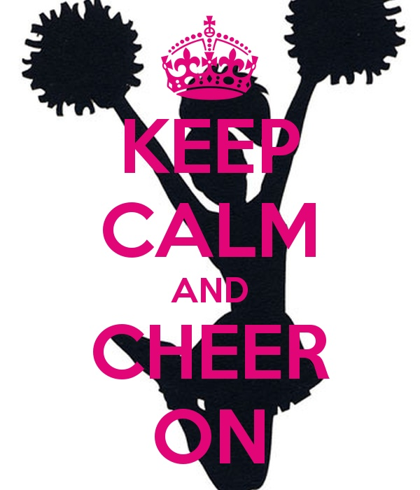Keep Calm Cheer Quote 1 Picture Quote #1