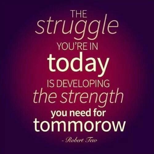 Struggle Quote 3 Picture Quote #1