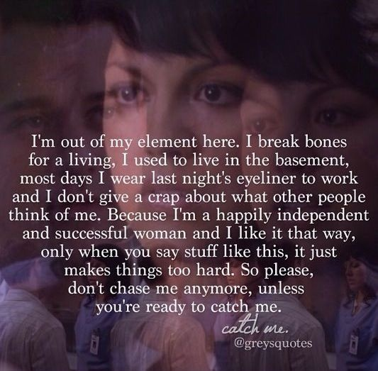 I Love You Quotes: Greys Anatomy TV Show Quotes & Sayings