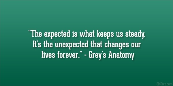 Greys Anatomy Quote On Life 1 Picture Quote #1
