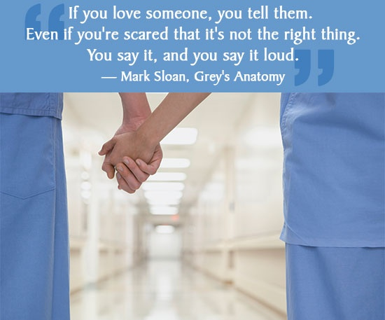 Greys Anatomy Quote About Love 1 Picture Quote #1