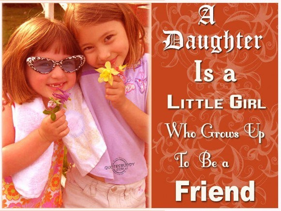 Little Girl Growing Up Quote 1 Picture Quote #1
