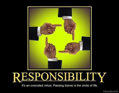 Team Responsibility Quote 1 Picture Quote #1