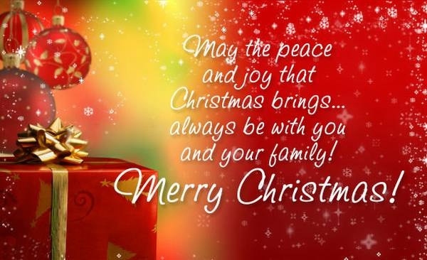 Merry Christmas Blessing Quote 1 Picture Quote #1