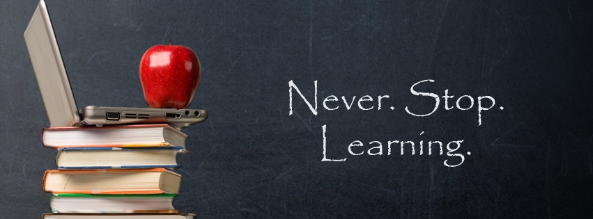 Never Stop Learning Quote 1 Picture Quote #1