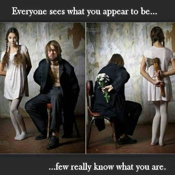 Perception Versus Reality Quote 1 Picture Quote #1