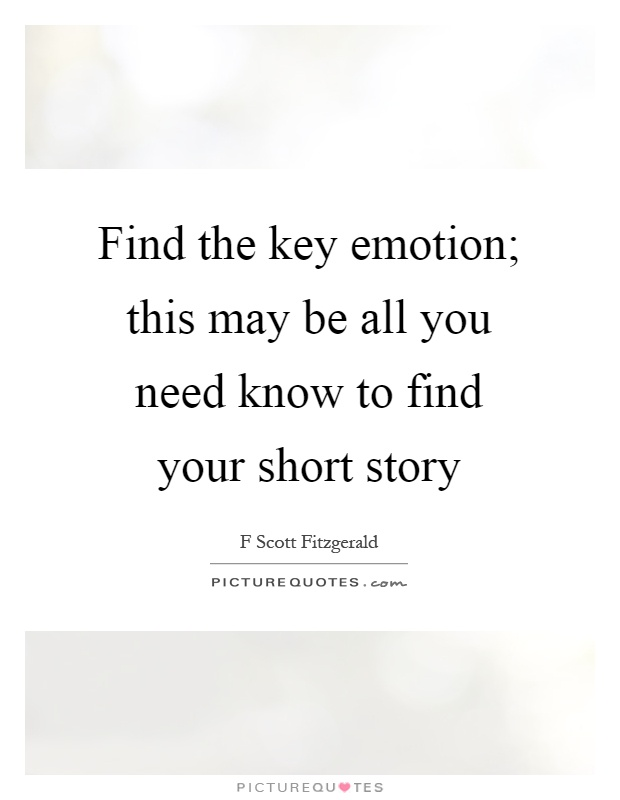 Short Story Quotes & Sayings