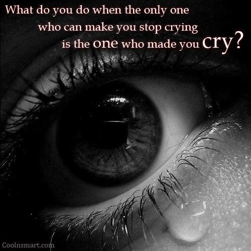 Crying Quote | Quote Number 594594 | Picture Quotes