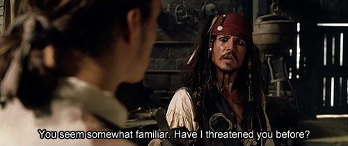 Captain Jack Sparrow Quote 3 Picture Quote #1