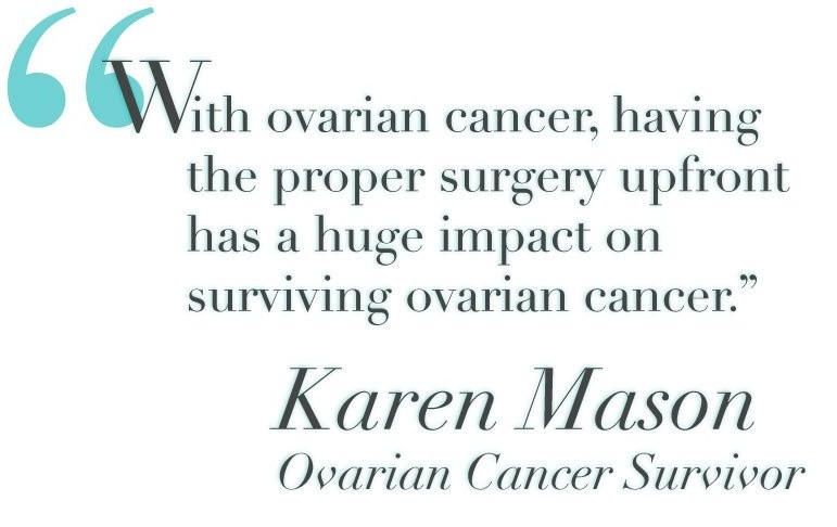 Ovarian Cancer Quote 1 Picture Quote #1