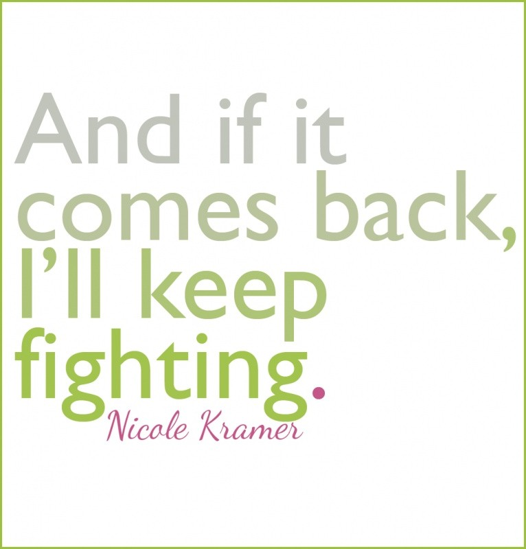 Fighting Cancer Quote 1 Picture Quote #1