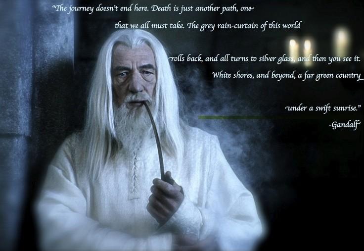 Gandalf Quote 1 Picture Quote #1