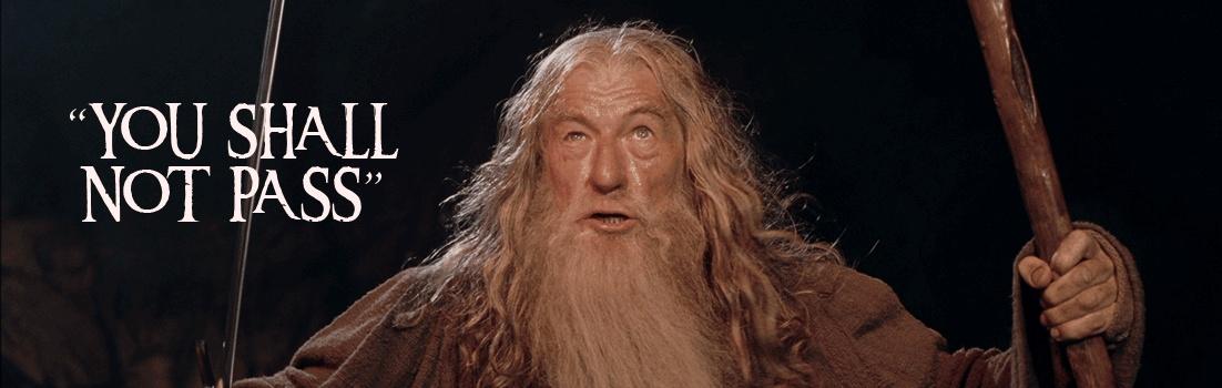 Gandalf Quote 2 Picture Quote #1