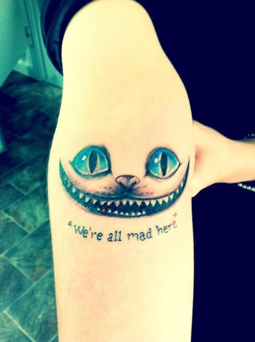 Cheshire Cat Quote 1 Picture Quote #1