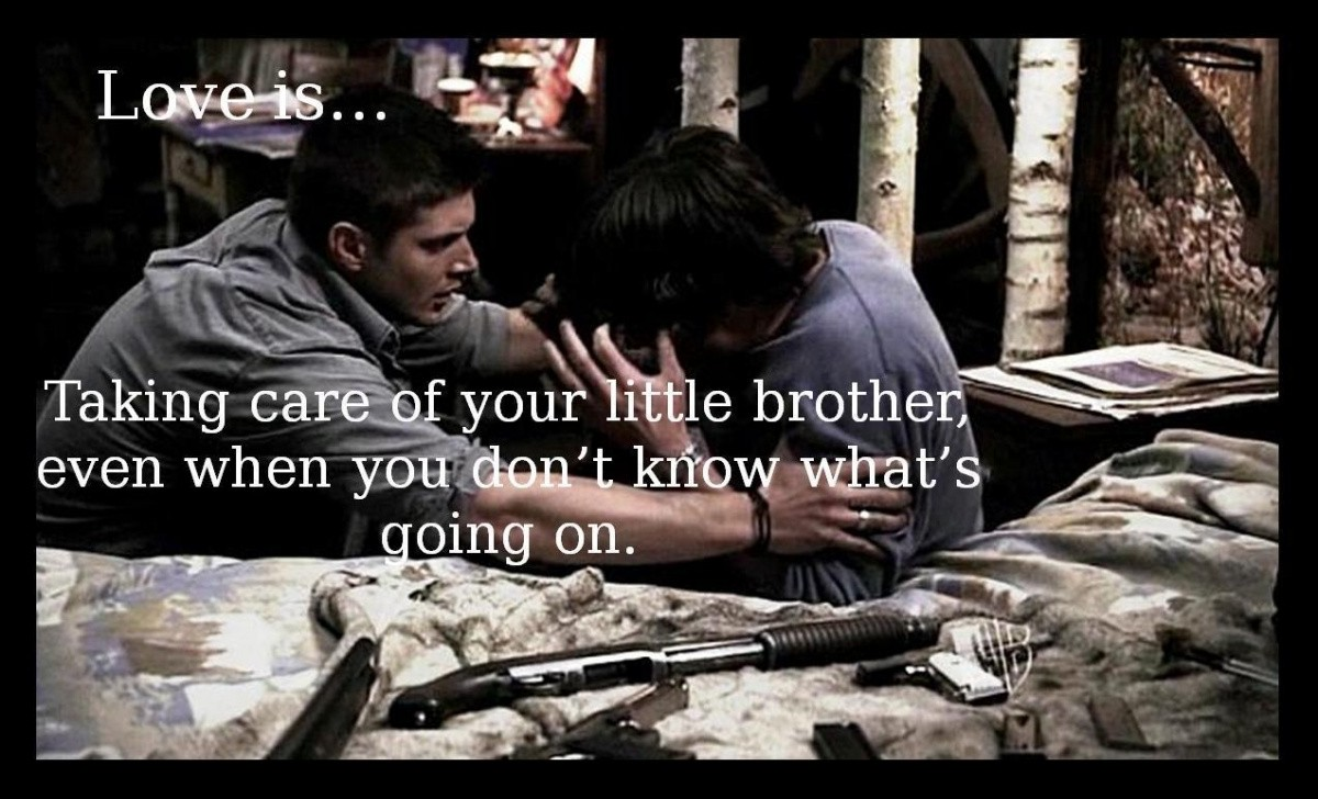 Supernatural Quote About Love 1 Picture Quote #1