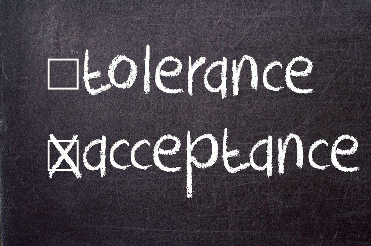 Tolerance And Acceptance Quote 1 Picture Quote #1