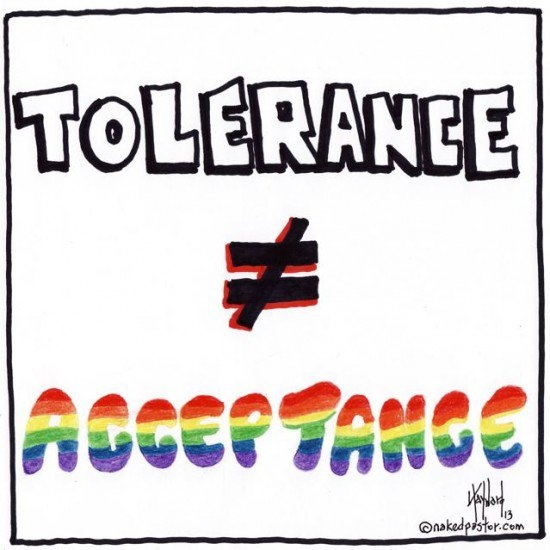 Tolerance And Acceptance Quote 3 Picture Quote #1