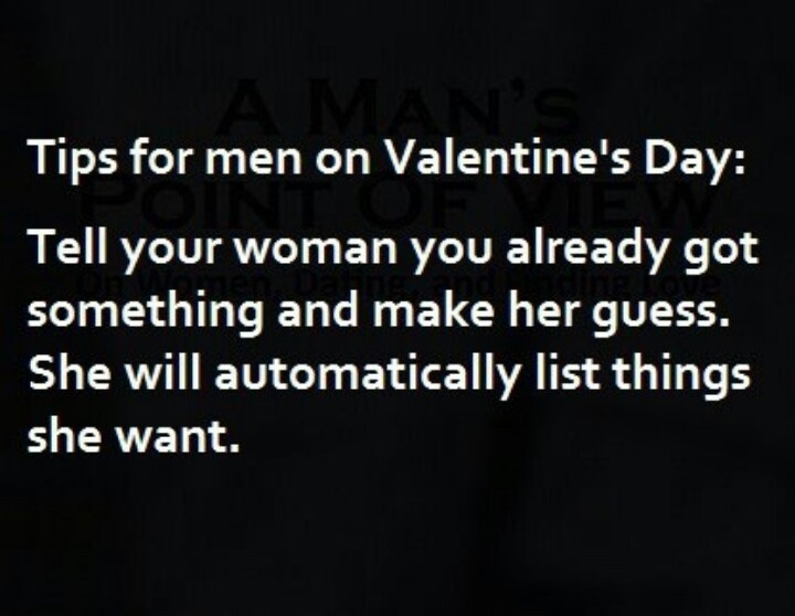 Valentine Day Quote For Men 1 Picture Quote #1