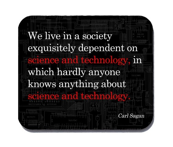 Science And Technology Quote 1 Picture Quote #1