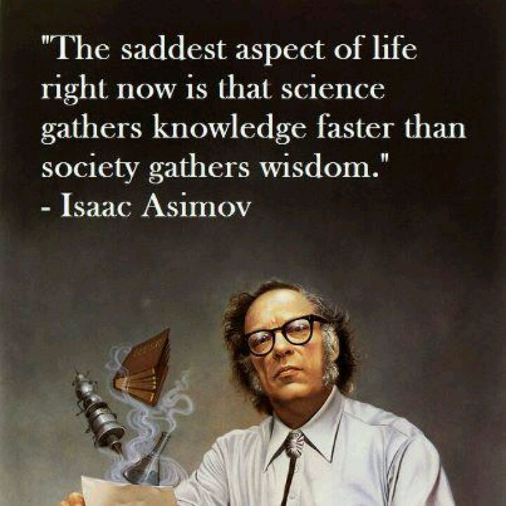 Isaac Asimov On Science Quote 2 Picture Quote #1