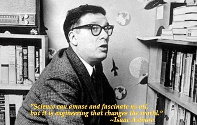 Isaac Asimov On Science Quote 1 Picture Quote #1