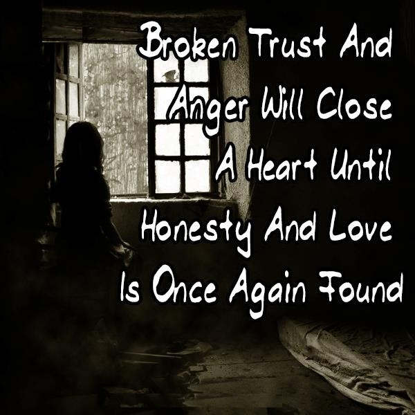 Broken Trust Quote 1 Picture Quote #1