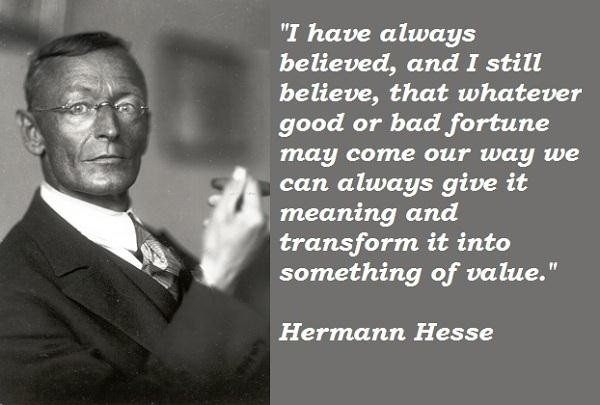 Hermann Hesse Quote Quote Number 595237 Picture Quotes