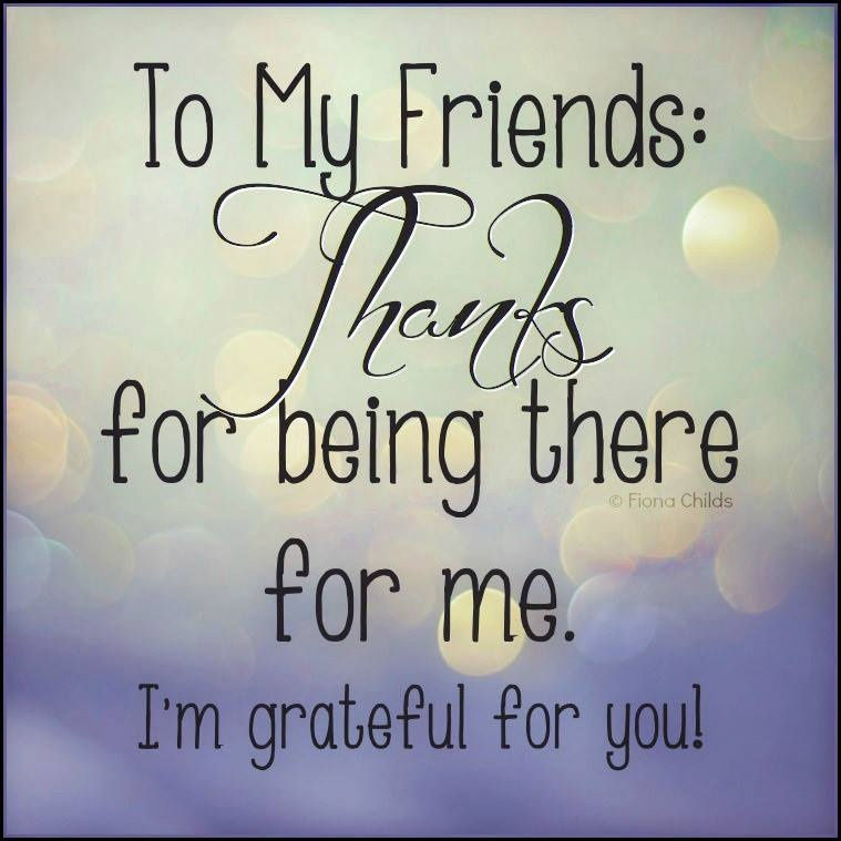 Grateful Quote About Friends 2 Picture Quote #1