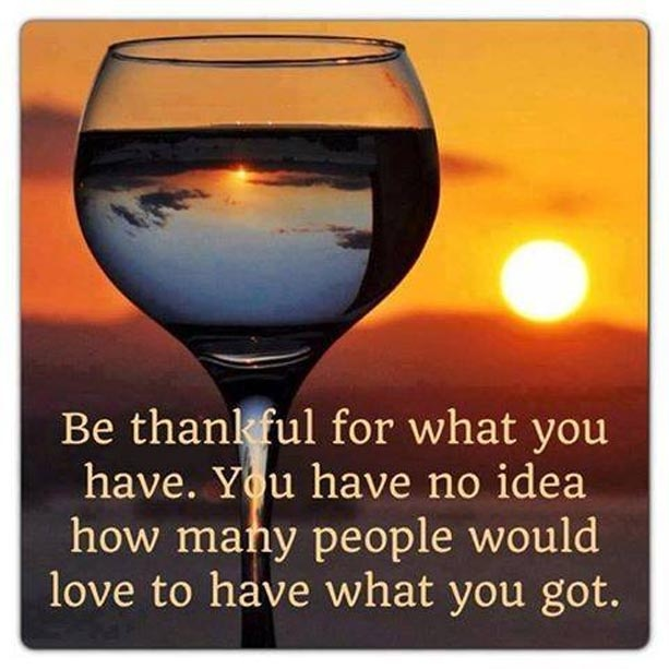 Be Grateful Quote 1 Picture Quote #1