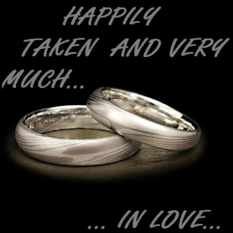 Happily Taken Quote 1 Picture Quote #1