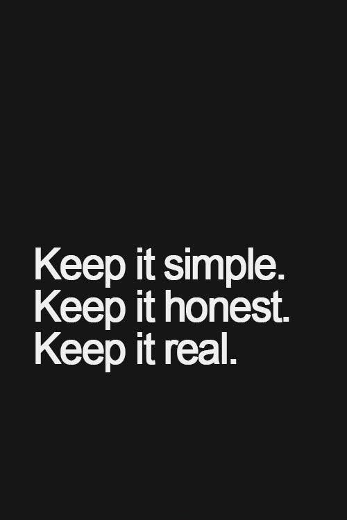 Simple Quotes Awesome Real Simple Quote  Quote Number 595391  Picture Quotes
