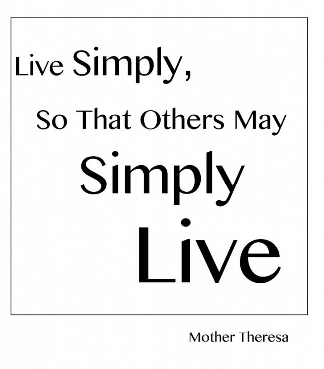 Simple Quote 2 Picture Quote #1