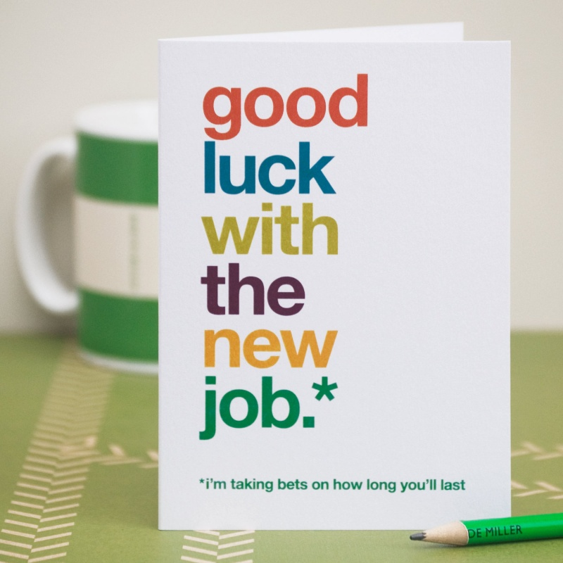 Good Luck On Your New Job Quote 1 Picture Quote #1