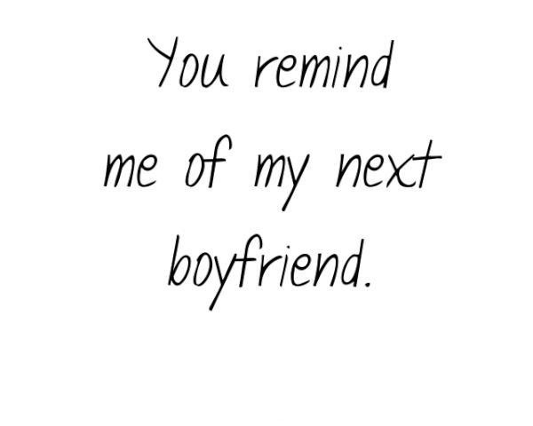 Cute Boyfriend Quote 1 Picture Quote #1