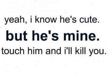 Cute Boyfriend Quote 2 Picture Quote #1
