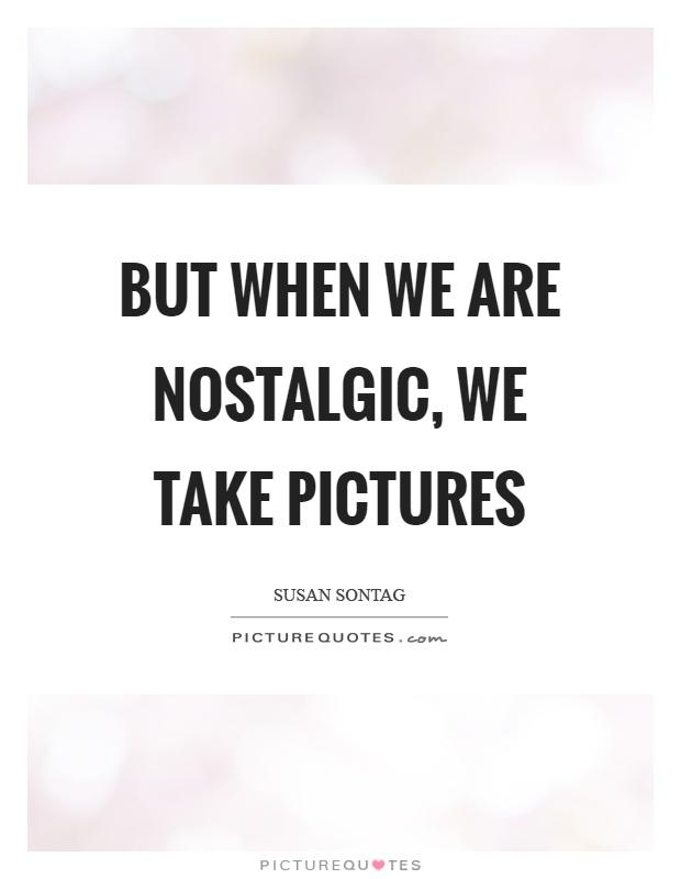 how to stop feeling nostalgic