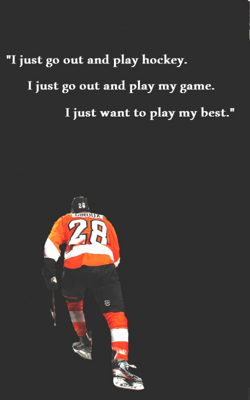 Hockey Quote 1 Picture Quote #1
