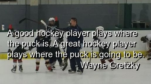 Hockey Quote 2 Picture Quote #1