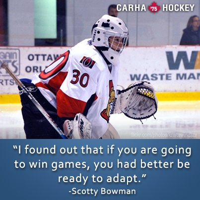 Inspirational Hockey Quote 1 Picture Quote #1