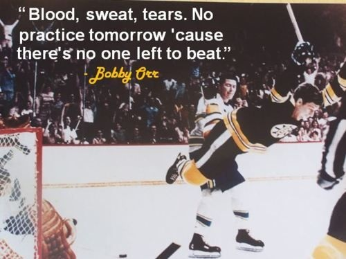 Bobby Orr Hockey Quote 4 Picture Quote #1