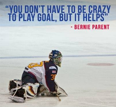 Funny Hockey Quote 3 Picture Quote #1