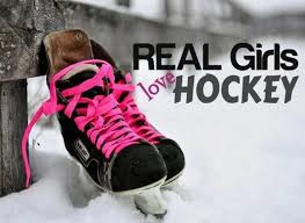 Girls Ice Hockey Quote 1 Picture