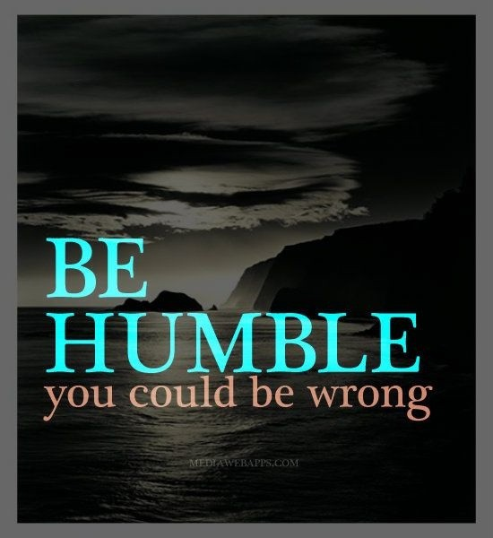 Humble Quote 4 Picture Quote #1